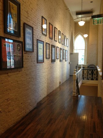 Ryman Auditorium : Displays in upstairs hallway