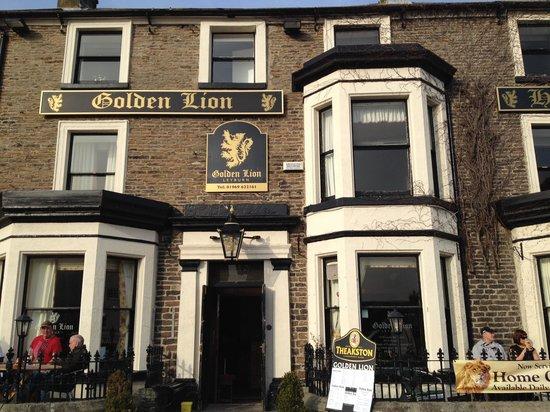 The Golden Lion Hotel: The Golden Lion, Leyburn