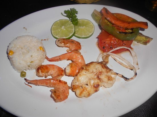 La Parrilla Mexican Grill : Delicious butterfly shrimp