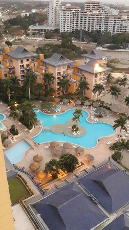 Zuana Beach Resort : vista desde el piso 16