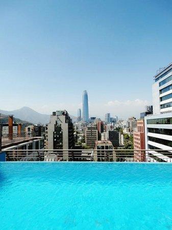 Apart Santiago : Piscina