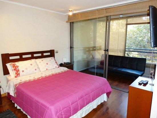 Apart Santiago : Habitación