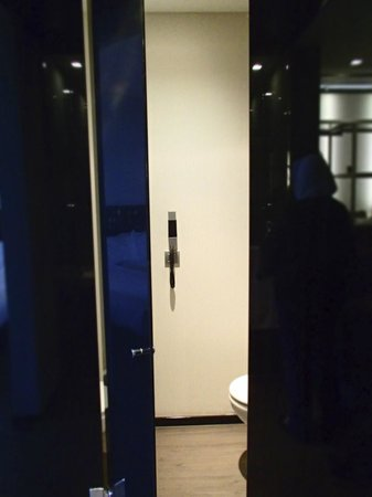 Eurostars Palace: door to separated wc