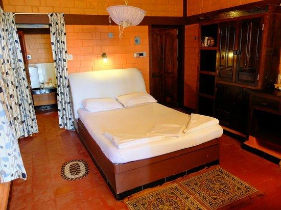 Varkala Marine Palace : Enkelt men bekvämt.