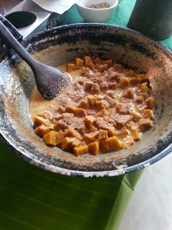 Tum Tum Cheng: Pumpkin dessert