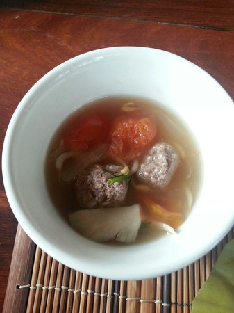 Tum Tum Cheng : Beef ball soup