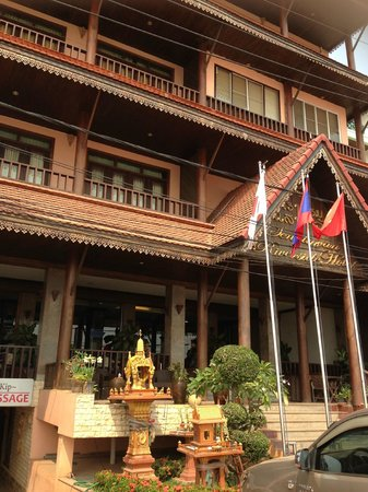 Chanthapanya Hotel : Entrance