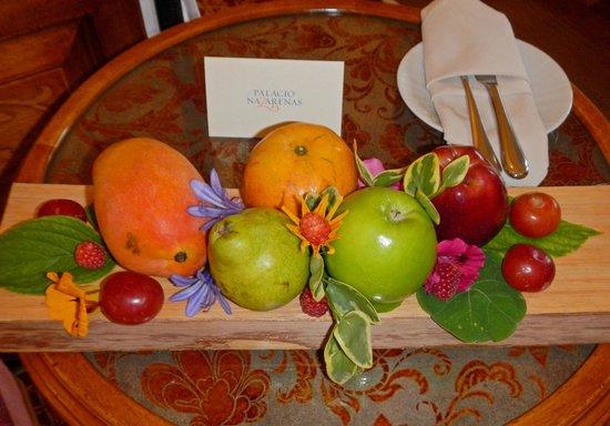 Belmond Palacio Nazarenas: Welcome Gift