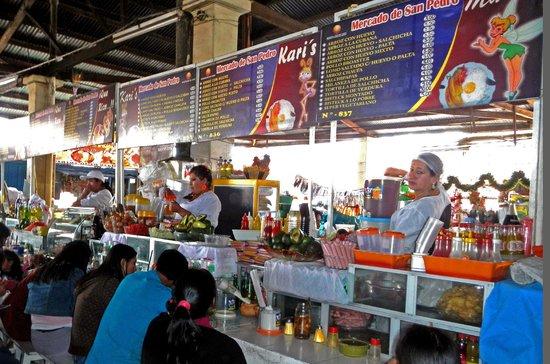 Belmond Palacio Nazarenas: San Pedro Market