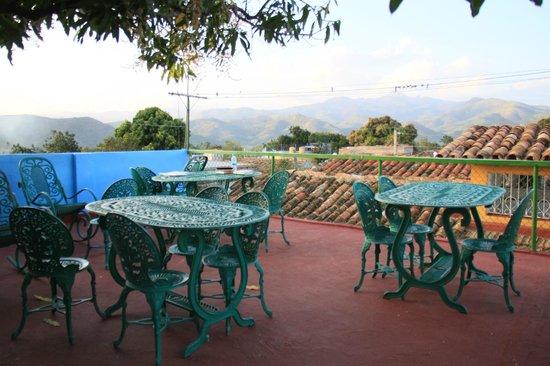 Casa Hospedaje Jesus Fernandez: Die wunderbare Dachterrasse mit Bergblick