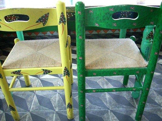 tap tap dettaglio sedie esterno