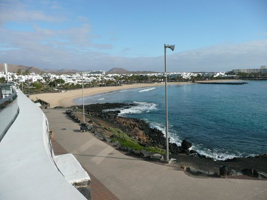 Be Live Experience Lanzarote Beach: View from balcony, back of hotel