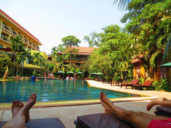 Prince D'Angkor Hotel & Spa : Nach den Tempelbesuchen erstmal eine kleine Abkühlung ;)