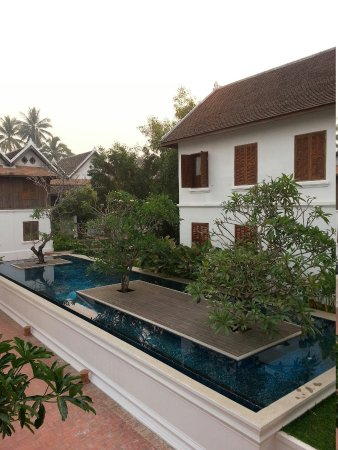 Victoria Xiengthong Palace : View from room