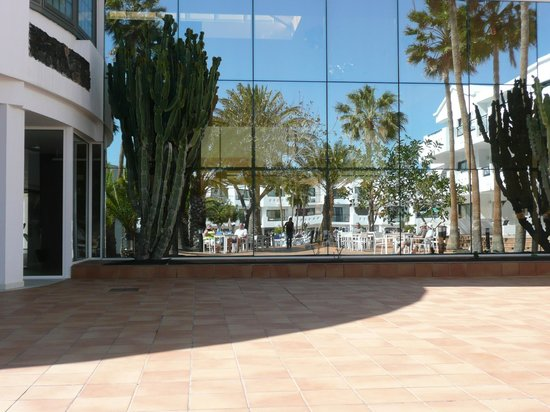 Be Live Experience Lanzarote Beach: Reflection of Patio Area