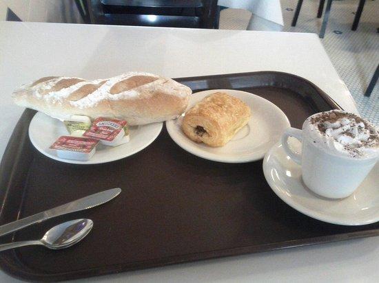 Le Croissant d'Or : Colazione