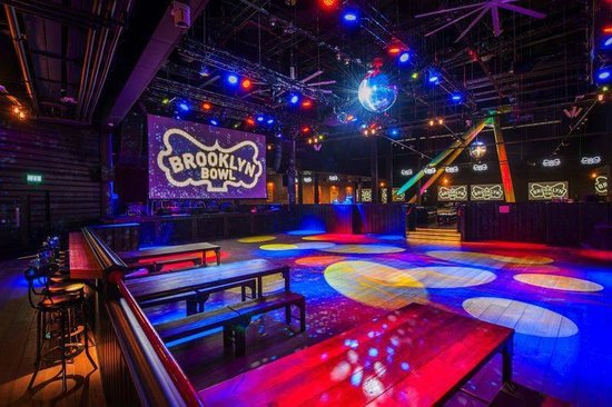 Photo of Bowling Alley Brooklyn Bowl London at The O2, London SE10 0DX, United Kingdom