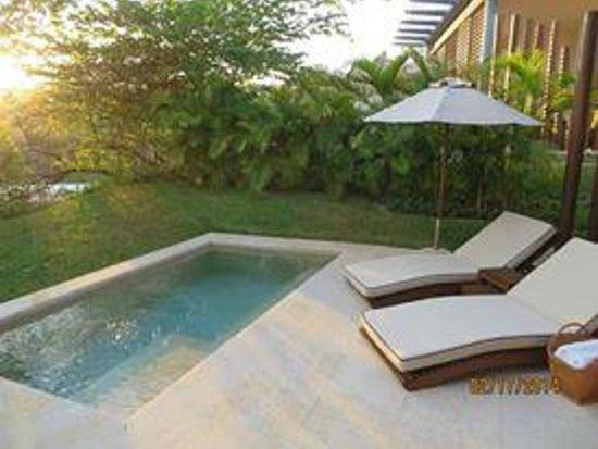 Rosewood Mayakoba: private plunge pool