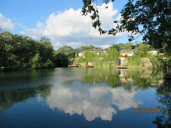 Rosewood Mayakoba: lagoon view