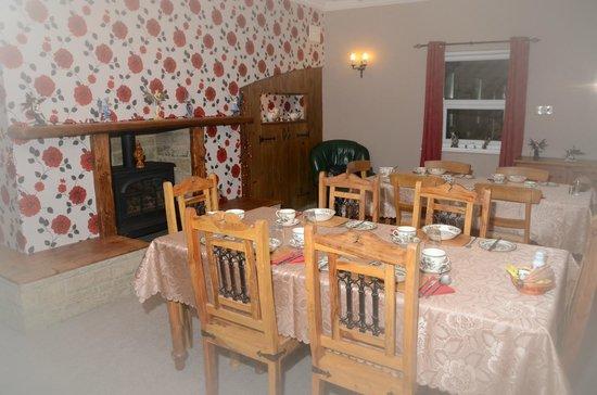 Townend Farm Bed & Breakfast: Breakfast room