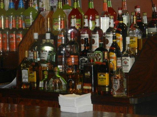 Mi Casa Azteca : our bar