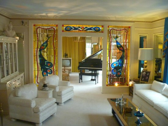 Graceland: The formal living room