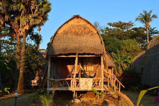 Lanta River Sand Bungalow: coucher de soleil