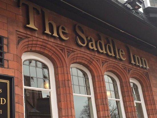 The Saddle Inn: the saddle