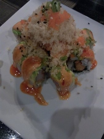 Pisces Sushi and Global Bistro: Volcano...The best Volcano roll i've ever had