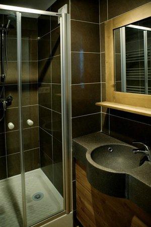 Résidence Les Grandes Feignes : Salle de douche