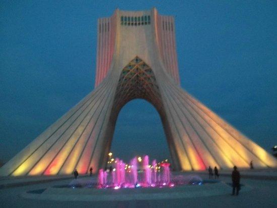 Azadi Tower Evening View