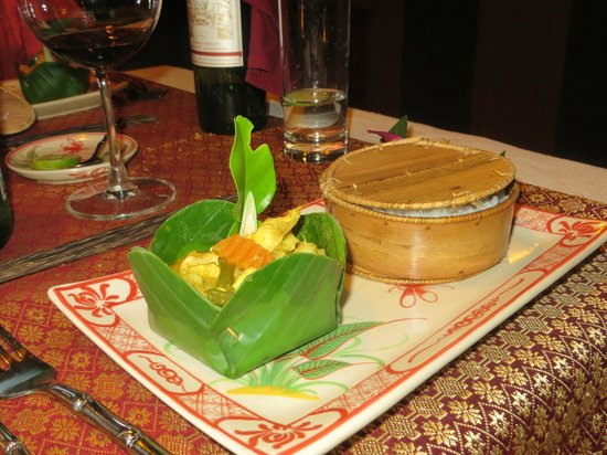 Madame Butterfly: Beautifully presented dishes