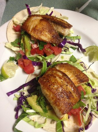 Flagler Fish Company: Fish Tacos with Tilapia