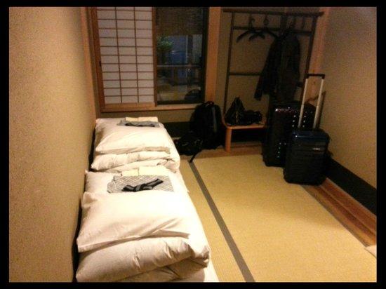 Nagomi Ryokan Yu: our room