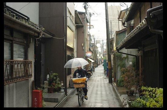 Nagomi Ryokan Yu: nice street of the ryokan