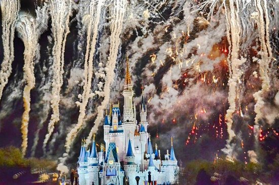 Happily Ever After Fireworks: Just magical!