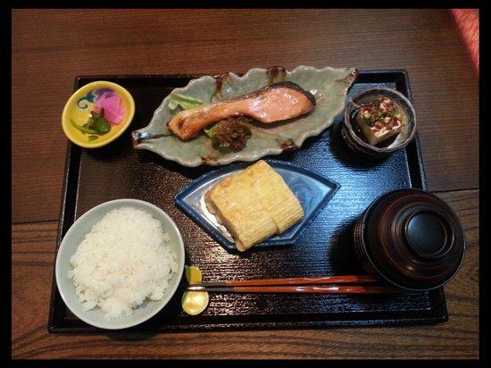 Nagomi Ryokan Yu: breakfast