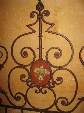 Hotel Palacio Marques de la Gomera: TETE DE LIT