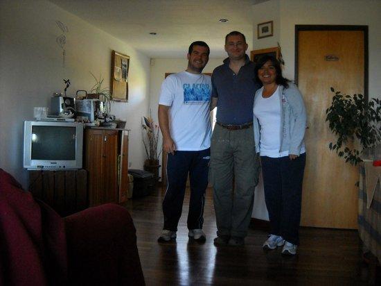 Posada Karut Josh: con Federico, un groso!!!