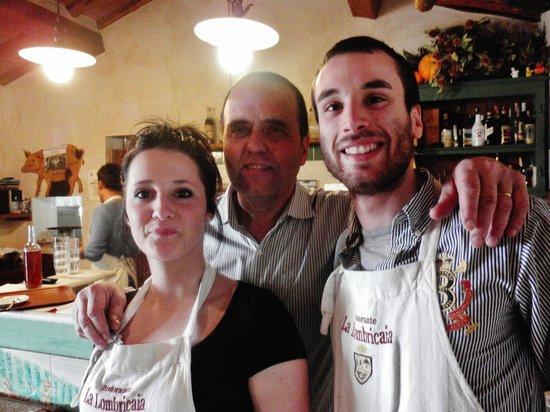 La Lombricaia: Rebecca, Marco e Marco
