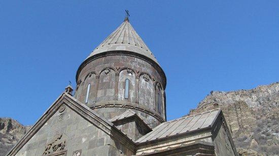 The Monastery of Geghard: Одна из башен монастыря