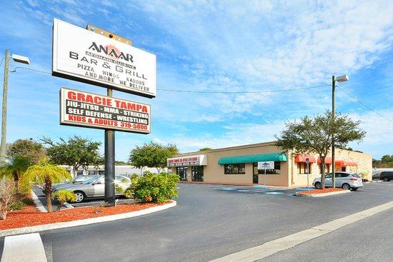 Anaar Bar & Grill: Our Sign