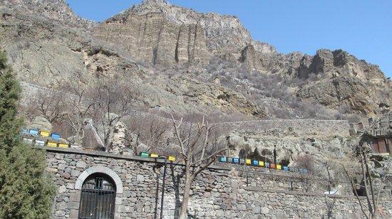 The Monastery of Geghard: Горный пейзаж