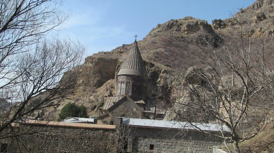 The Monastery of Geghard: Вид на гехард