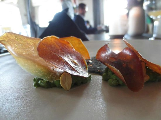 Noma : Dried scallops and beech nuts