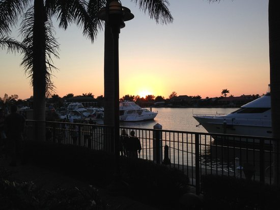 Hilton Marco Island Beach Resort--CLOSED FOR RENOVATIONS; REOPENING DEC. 1, 2017: View from our Table at Chop 239