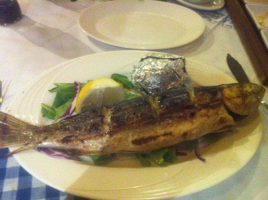 The Last Refuge: Grilled fish