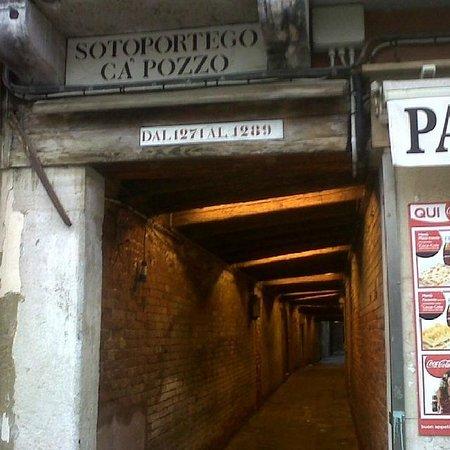 Ca' Pozzo Inn : entrada