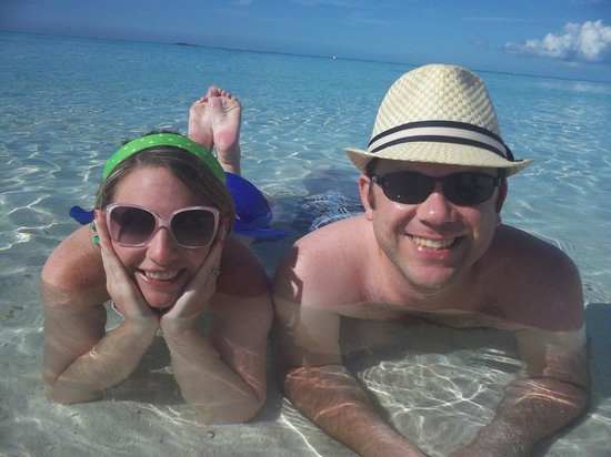 Castaway Cay : Clearest water I have ever seen!
