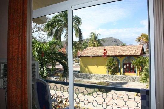 Club Amigo Carisol Los Corales: view from our room